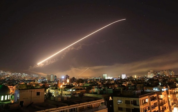 missile attack Syria